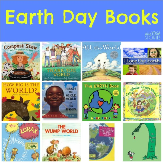 Earth Day Books for Kids on Kids Yoga Stories