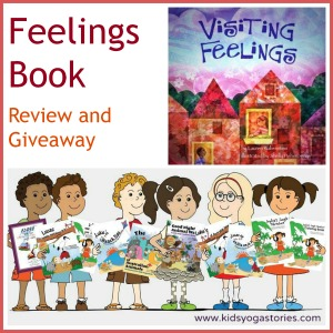 Visitings Feelings Book Review and Giveaway on Kids Yoga Stories
