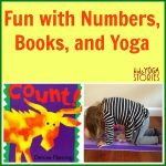 Fun with numbers, books, and yoga | Kids Yoga Stories