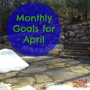 Smart Goals for April