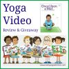 Kids Yoga Video by Namaste Kid review and giveaway hosted by Kids Yoga Stories