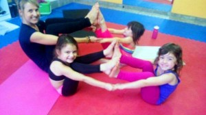 Yoga class in South Africa by Yoga Kittens
