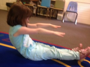 Boat Pose by Crafty Moms Share