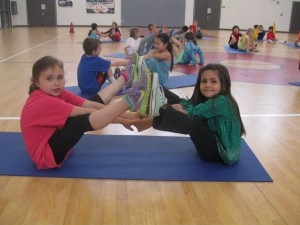 Yoga at school by Jodi B.