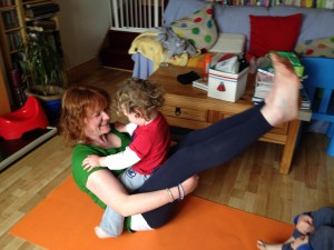 Mom and Child Yoga by Stretch and Smile