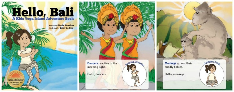 Hello, Bali, an energizing yoga story for toddlers and preschoolers by Kids Yoga Stories