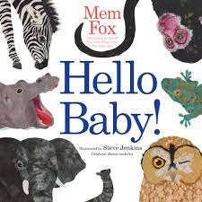 Hello Baby! book by Mem Fox - perfect for toddler yoga