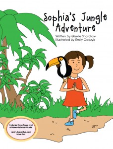 Sophia's Jungle Adventure jungle yoga story by Kids Yoga Stories