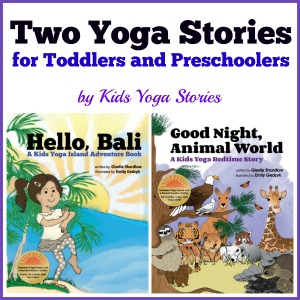 Two Yoga Stories for toddlers and preschoolers by Kids Yoga Stories