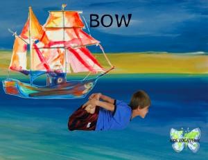 Bow Pose by Kids Yogaverse