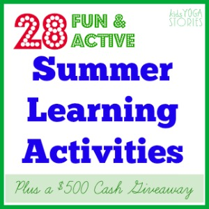28 Fun and Healthy Activities for Summer >> Kids Yoga Stories