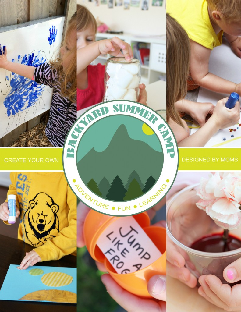 Backyard Summer Camp eBook by six mommy bloggers