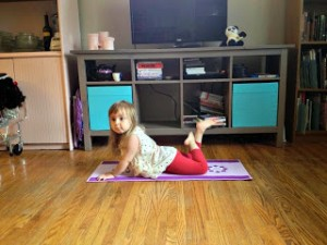 Bow Pose by Jennifer Tammy