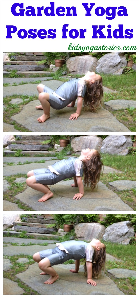 Garden Yoga Poses for Kids inspired by Eric Carle Books >> Kids Yoga Stories