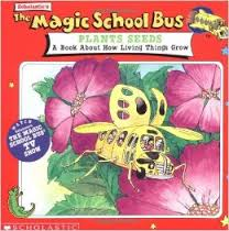 Magic School Bus Plants Seeds book by Scholastic
