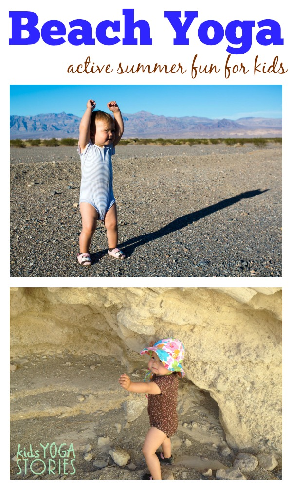 Beach Yoga: active summer fun for kids -- by Kids Yoga Stories