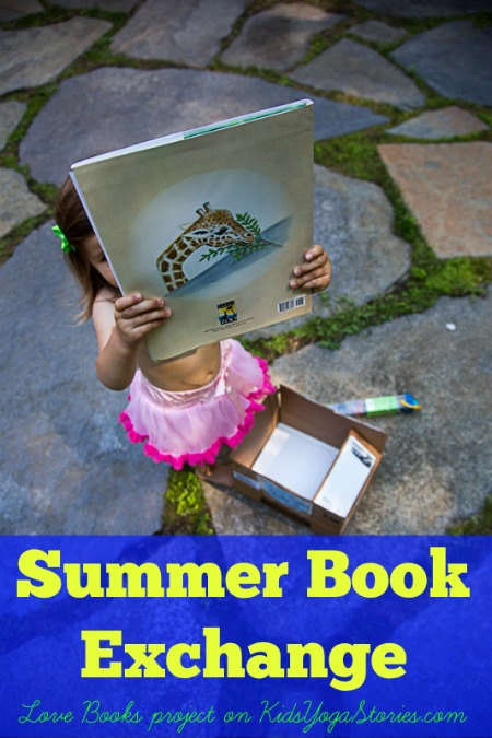 Summer Book Exchange - a Love Books project with 60 bloggers >> Kids Yoga Stories