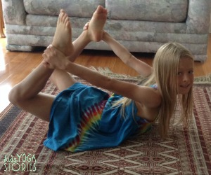 Bow Pose by Kids Yoga Stories
