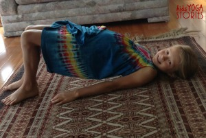 Bridge Pose by Kids Yoga Stories