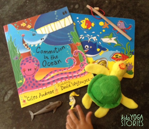Props to use with your ocean yoga experience >> Kids Yoga Stories