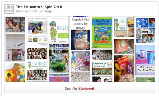 Summer Book Exchange Pinterest Board