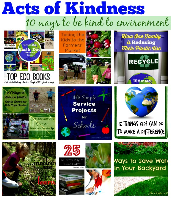 Acts of Kindness: 10 ways to teach children how to be kind to animals and environment - by Kids Yoga Stories