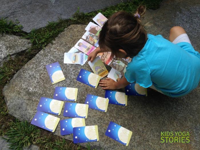Bedtime Yoga Cards play   Kids Yoga Stories