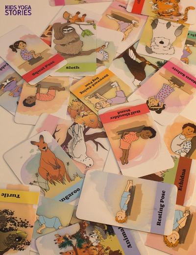 Bedtime Yoga Cards pack | Kids Yoga Stories