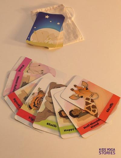 Bedtime yoga cards | Kids Yoga Stories