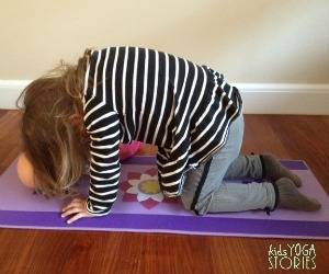 Cat Pose by Kids Yoga Stories