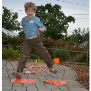 Halloween Hopscotch