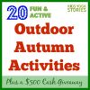 20 Fun and Active Outdoor Fall Activities to get children learning, moving, and having fun this season | Kids Yoga Stories