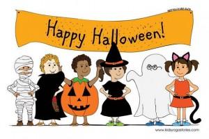 Happy Halloween Kids Yoga Stories