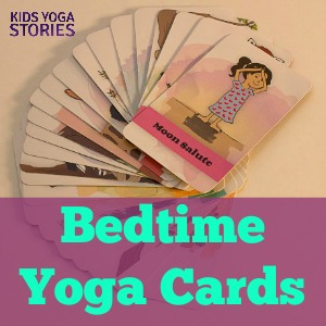 Good Night, Animal World Bedtime Yoga Cards for toddlers and preschoolers | Kids Yoga Stories [Press Release]
