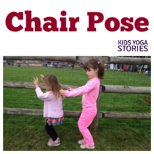 How to Do Chair Pose | Kids Yoga Stories