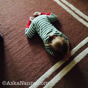 Child's Pose by Ask a Nanny