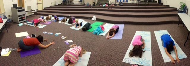 Child's Pose by All Kids Yoga