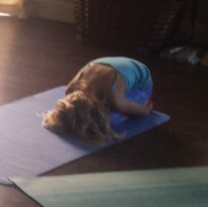 Child's Pose by Koru Power Yoga