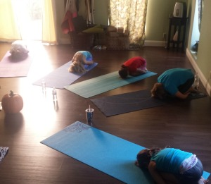 Child's Pose by Koru Power Yoga