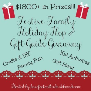 Festive Family Holiday Hop and Gift Guide Giveaway