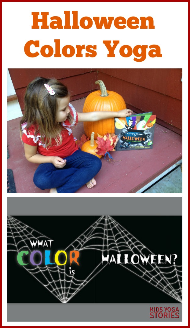Celebrate Halloween through learning, moving, and having fun with this Halloween Colors Yoga sequence   Kids Yoga Stories