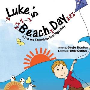 Luke's Beach Day by Kids Yoga Stories