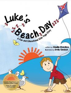 Luke's Beach Day yoga book |Kids Yoga Stories