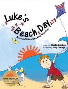 Luke's Beach Day yoga book |Kids Yoga Stories