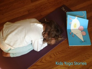 Child's Pose by Kids Yoga Stories