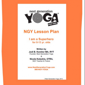 Next Generation Kids Yoga Lesson Plan