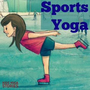 "Alphabet Yoga: ""S"" is for Sports Yoga (learn alphabet through yoga poses for kids) 