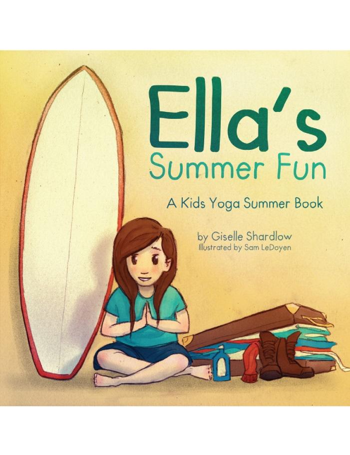 Ella's Summer Fun yoga book