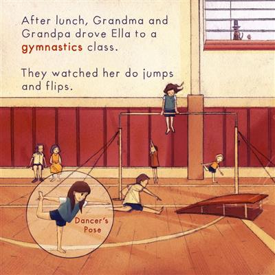 Ella's Summer Fun by Giselle Shardlow, Kids Yoga Stories
