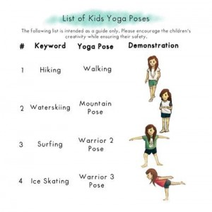 Ella Summer Fun yoga book by Kids Yoga Stories (sample page)